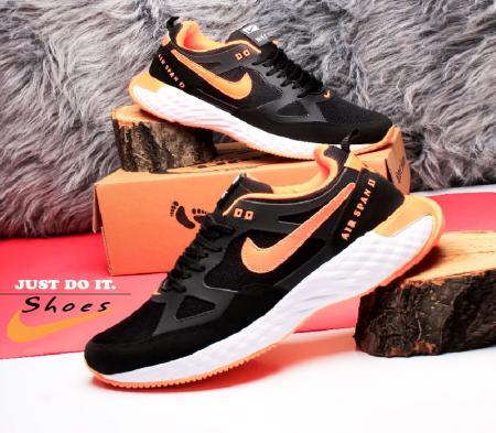 کفش مردانه Nike مدل Span (مشکی نارنجی)