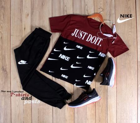 ست تیشرت و شلوار Nike مدل Bizak